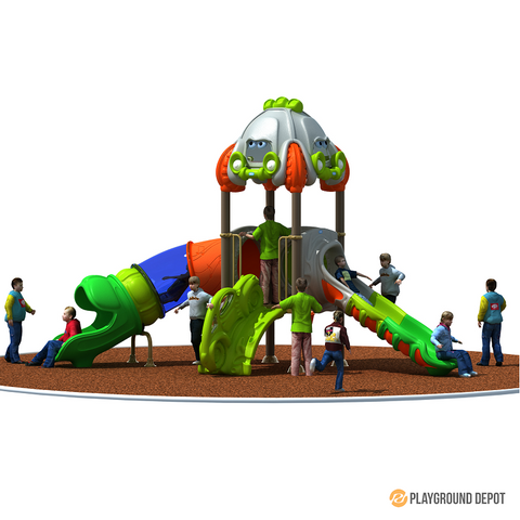 PD-C074 | Race Car Themed Playground