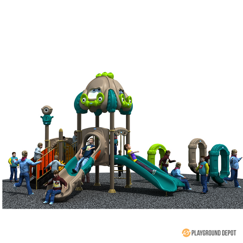 PD-C083 | Race Car Themed Playground