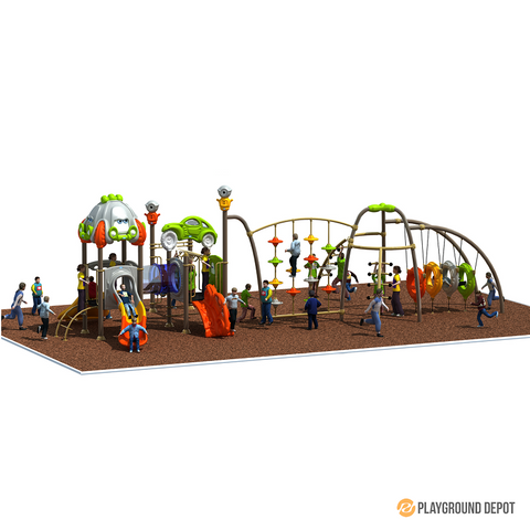 PD-C086 | Race Car Themed Playground