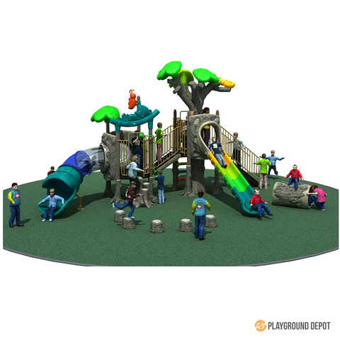 PD-T029 | Ancient Tree Themed Playground