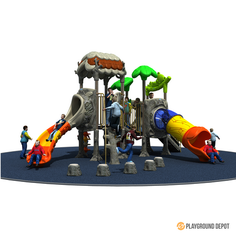 PD-T031 | Ancient Tree Themed Playground