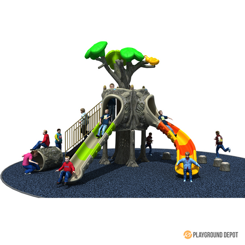 PD-T036 | Ancient Tree Themed Playground