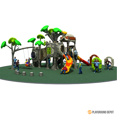 PD-T040 | Ancient Tree Themed Playground