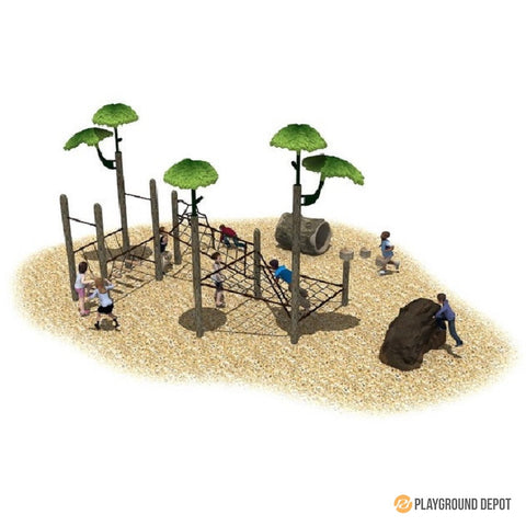 UL-PA004 | Outdoor Playground Equipment