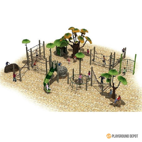 UL-PA012 | Themed Commercial Playground Equipment