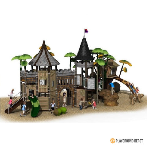 UL-PA040 | Themed Commercial Playground Equipment