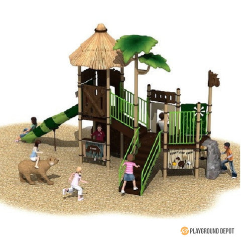 UL-PN004 - Themed Commercial Playground Equipment