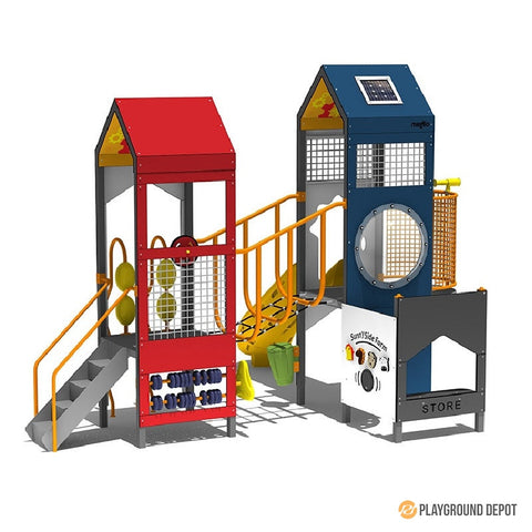 UL-WD507 | Commercial Playground Equipment