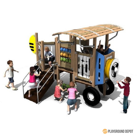 UL-WS207  | Themed Commercial Playground Equipment