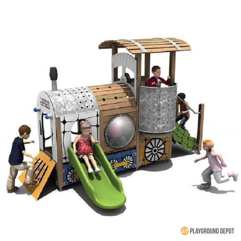UL-WS208 | Themed Commercial Playground Equipment