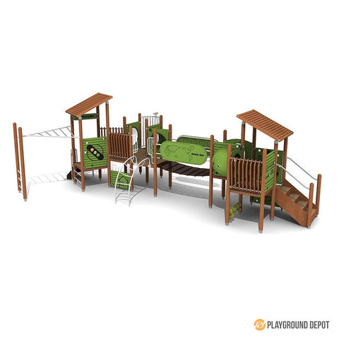 UL-WS305E | Commercial Playground Equipment