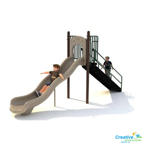 5ft Free Standing Single Slide