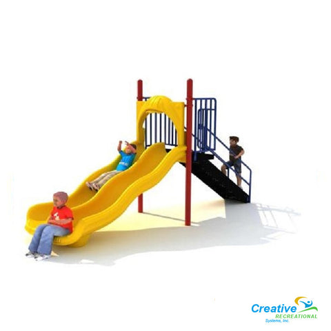 4ft Free Standing Double Slide