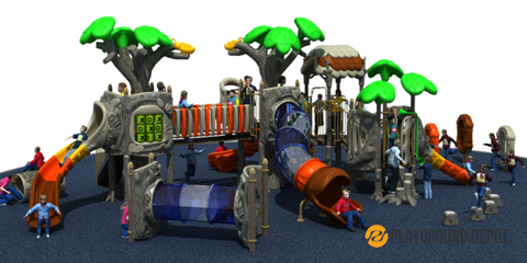 PD-T042 | Ancient Tree Themed Playground