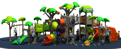 PD-T057 | Ancient Tree Themed Playground