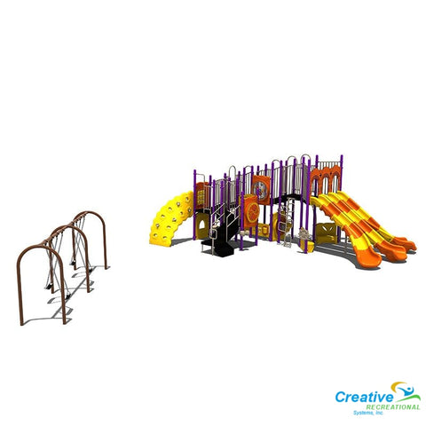 Kp-32778 | Commercial Playground Equipment Playground Equipment