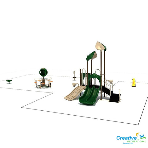 Kp-80093 - Commercial Playground Equipment Playground Equipment