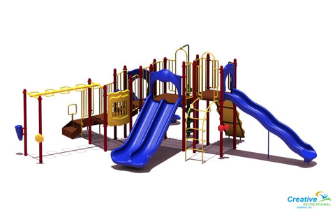 Uplay-015 Slide Mountain | Commercial Playground Equipment