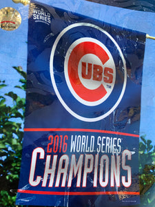 Chicago Cubs World Champions Banner