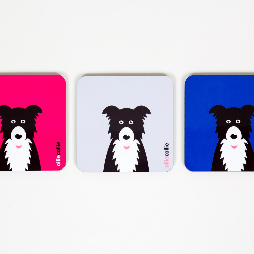 Ollie Collie Coasters