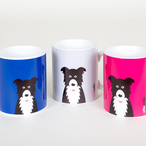 Ollie Collie Colours Ceramic Mug
