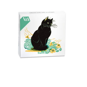 Lucky Cat Mini Notecard Wallet