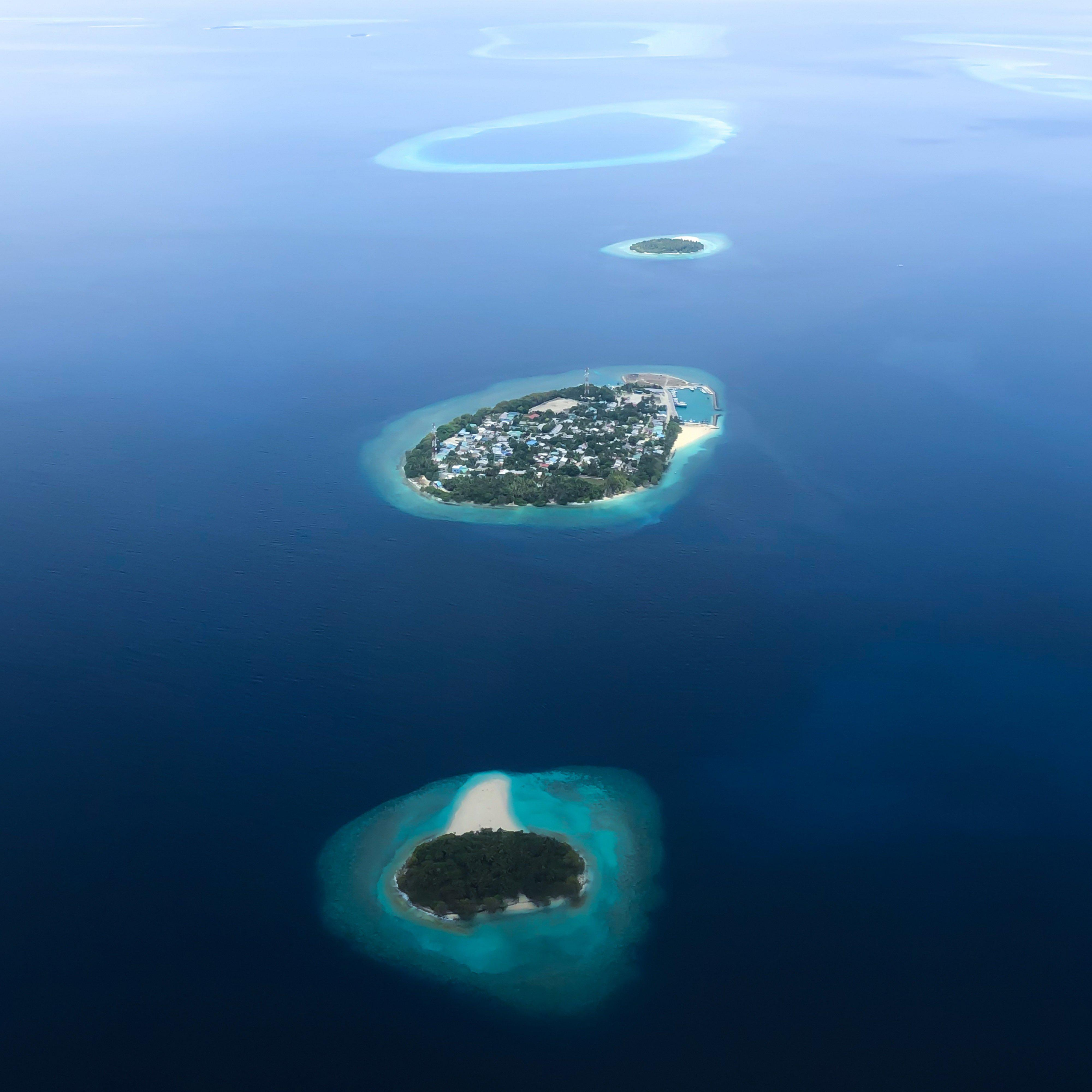 Baa Atoll From Above