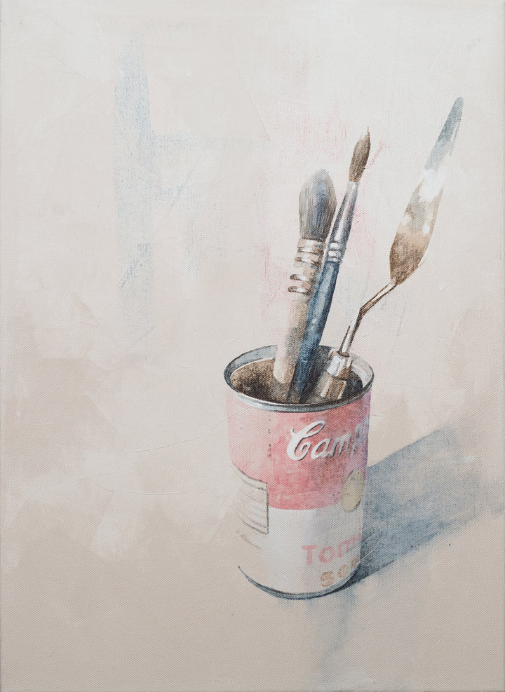 Campbell's and brushes