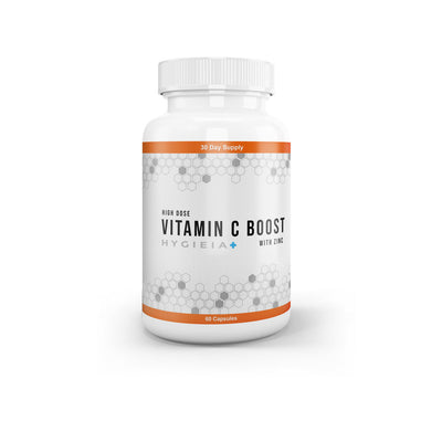High Strength Vitamin C (1000mg) With Zinc & Turmeric