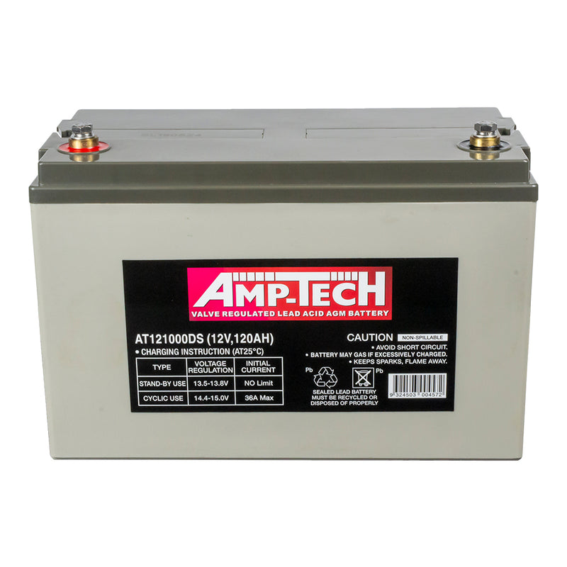 Supercharge AT121000DS Amp-Tech Deep Cycle Battery