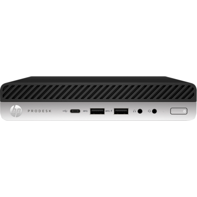 HP 600 ProDesk G5 DM, i7-9700T, 8GB, 256GB SSD, WLAN, W10P64, 3-3-3 (Replaces 4VT23PA & 5DD54PA)