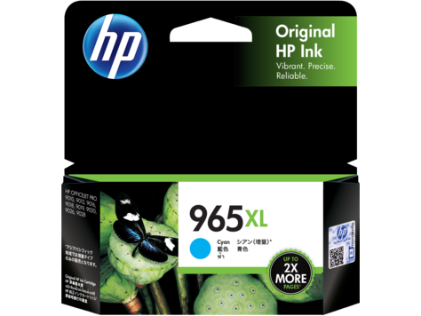 HP 965XL Cyan Original Ink Cartridge