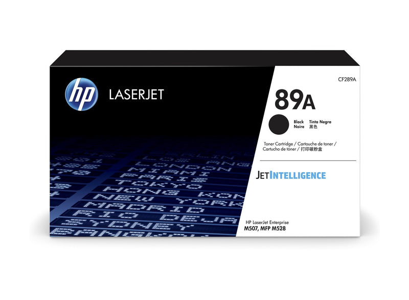 HP 89A Black LaserJet Toner Cartridge