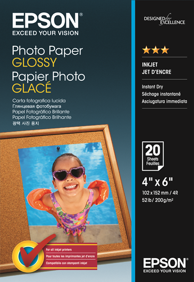 Photo Paper Glossy 5x7 20 Sheet