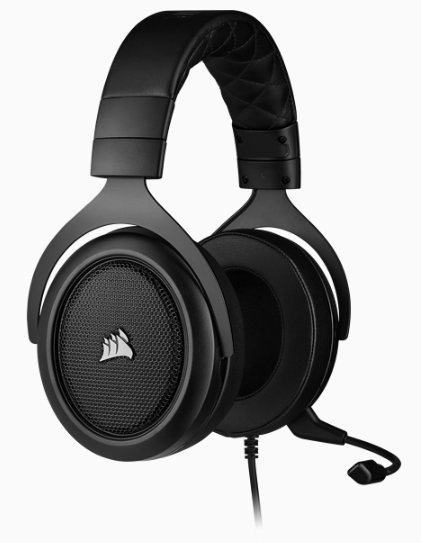 CORSAIR HS50 PRO STEREO Gaming Headset, Carbon