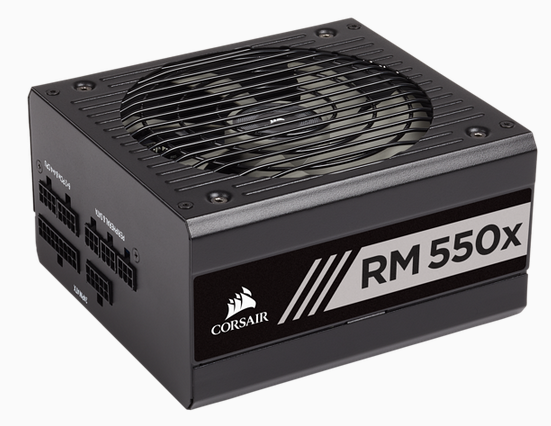 CORSAIR RMx Series RM550x 80 PLUS Gold Fully Modular ATX Power Supply (No Power Cord)