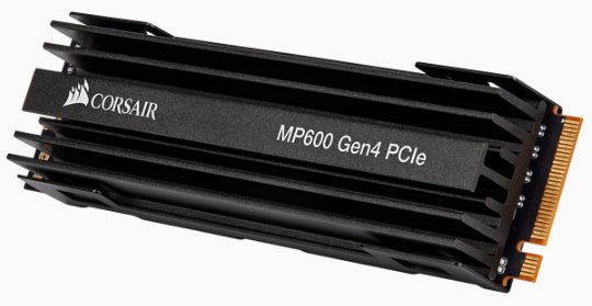 Force MP600 series Gen4 NVMe PCIe M.2 SSD 1TB; Up to 4,950MB/s Sequential Read, Up to 4,250MB/s Sequential Write