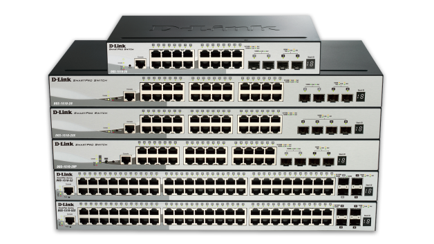 52-Port Gigabit SmartPro Switch with 48 UTP and 4 SFP+ 10G Ports