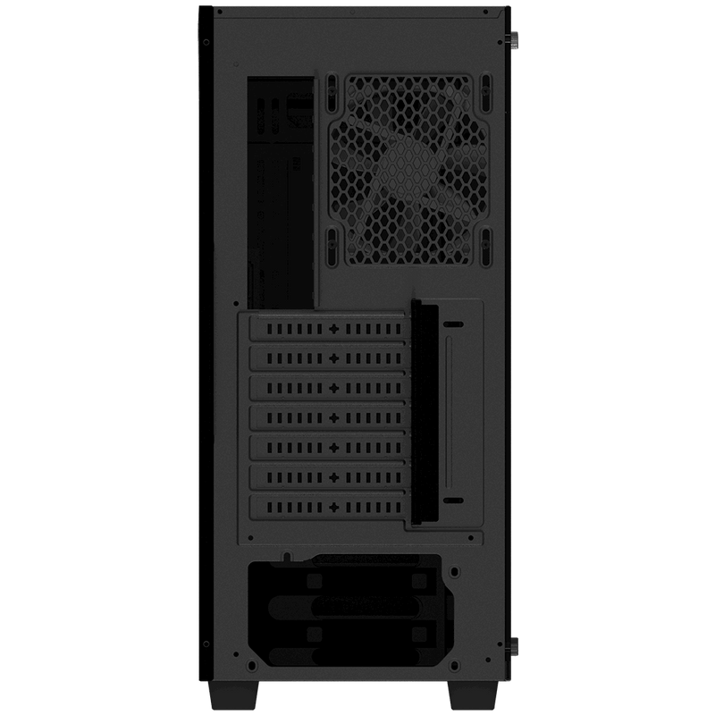 """Gigabyte, C200 Glass, Mid Tower, 2x3.5"""" Bays, 2X2.5"""" Bays, 2xUSB3.0, RGB LED Switch, Audio In & Out, ATX, Detachable Dust Filters, 2 Years Warranty"""
