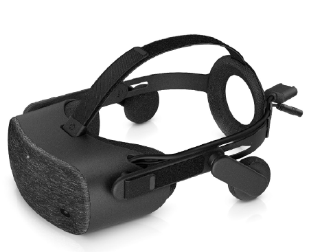 """HP Reverb VR 1000 Headset/ Dual LCD 2.89"""" diagonal with Pulse Backlight technology / 2160 x 2160 pixels per eye"""