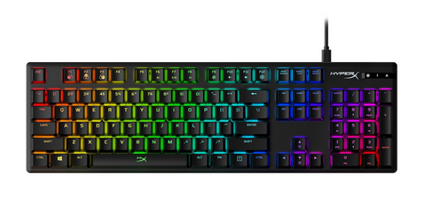 HyperX Alloy Origins RGB Mechanical Gaming Keyboard, Aqua Switch, US Layout