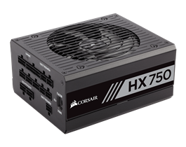 Corsair HX750 750W 80 Plus Platinum High Performance Power Supply