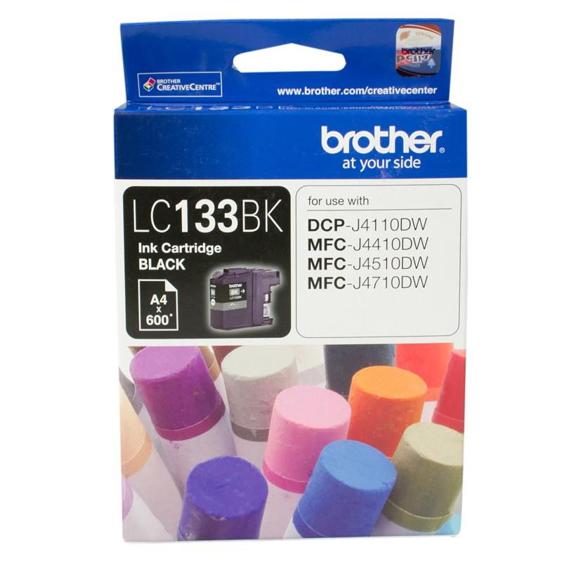 BLACK INK CARTRIDGE TO SUIT DCP-J4110DW/MFC-J4410DW/J4510DW/J4710DW - UP TO 600 PAGES