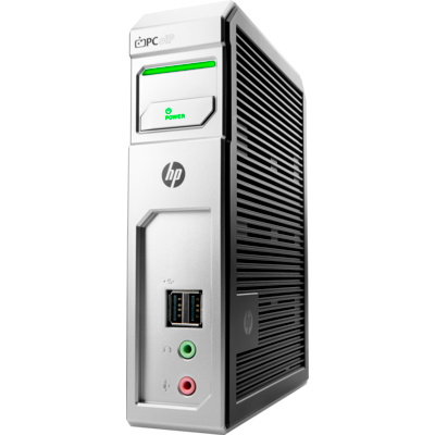 HP t310: TERA2140 PCoIP Zero Client processor/ 512 MB/ 32MB/ / No WiFi/ Fiber NIC/ No OS - Quad Display