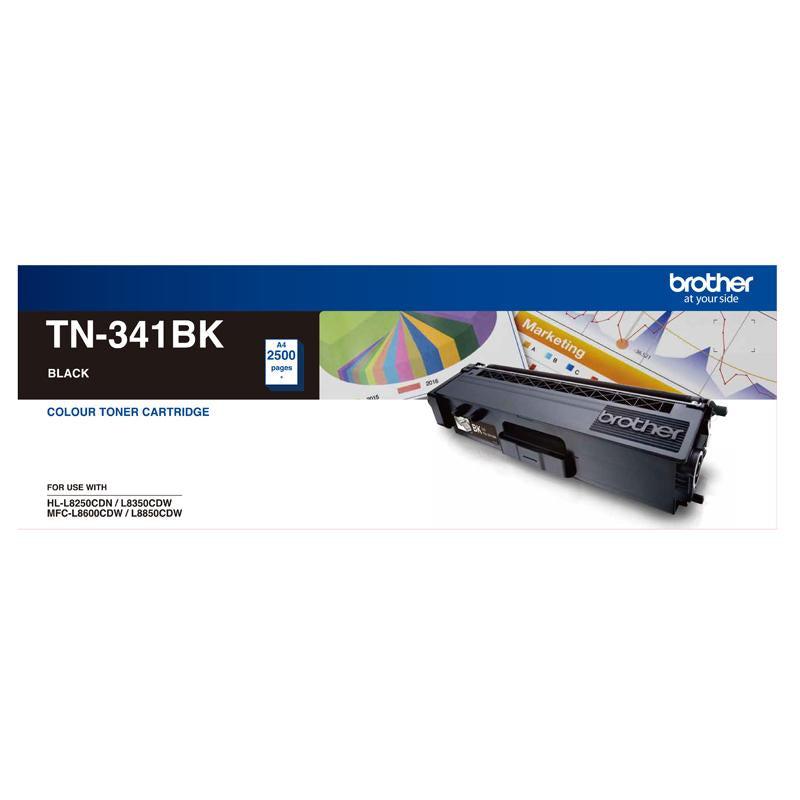 STANDARD YIELD BLACK TONER TO SUIT HL-L8250CDN/8350CDW MFC-L8600CDW/L8850CDW - 2500Pages