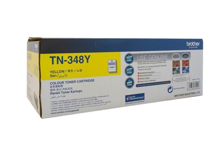 TN348 High Yield Yellow Laser Toner for HL4150CDN/4570CDW