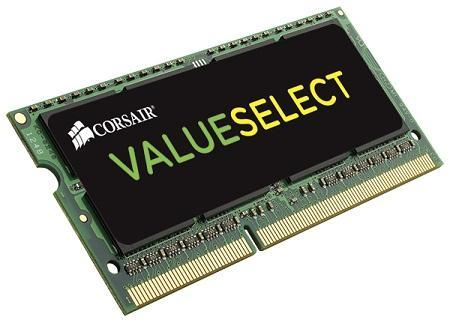 CORSAIR Value Select 4GB (1x4GB) DDR3L DRAM SODIMM 1600MHz 11-11-11-28 1.35V