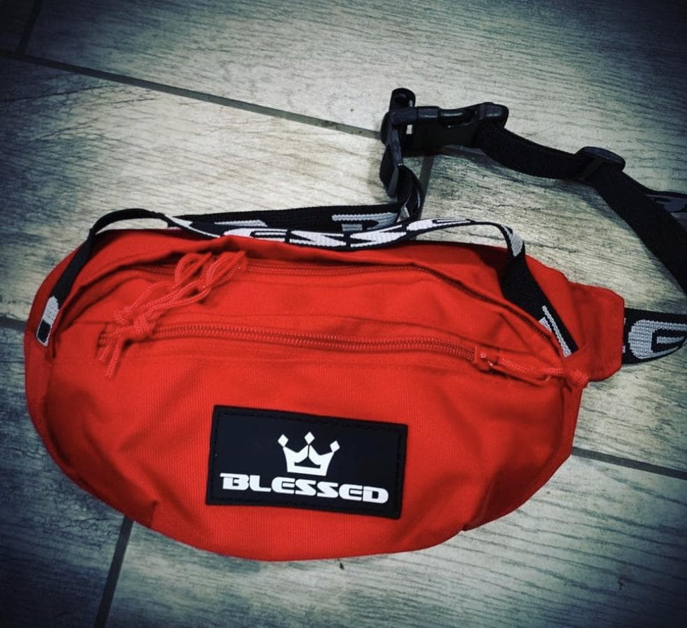Blessed Waist Bag - Red