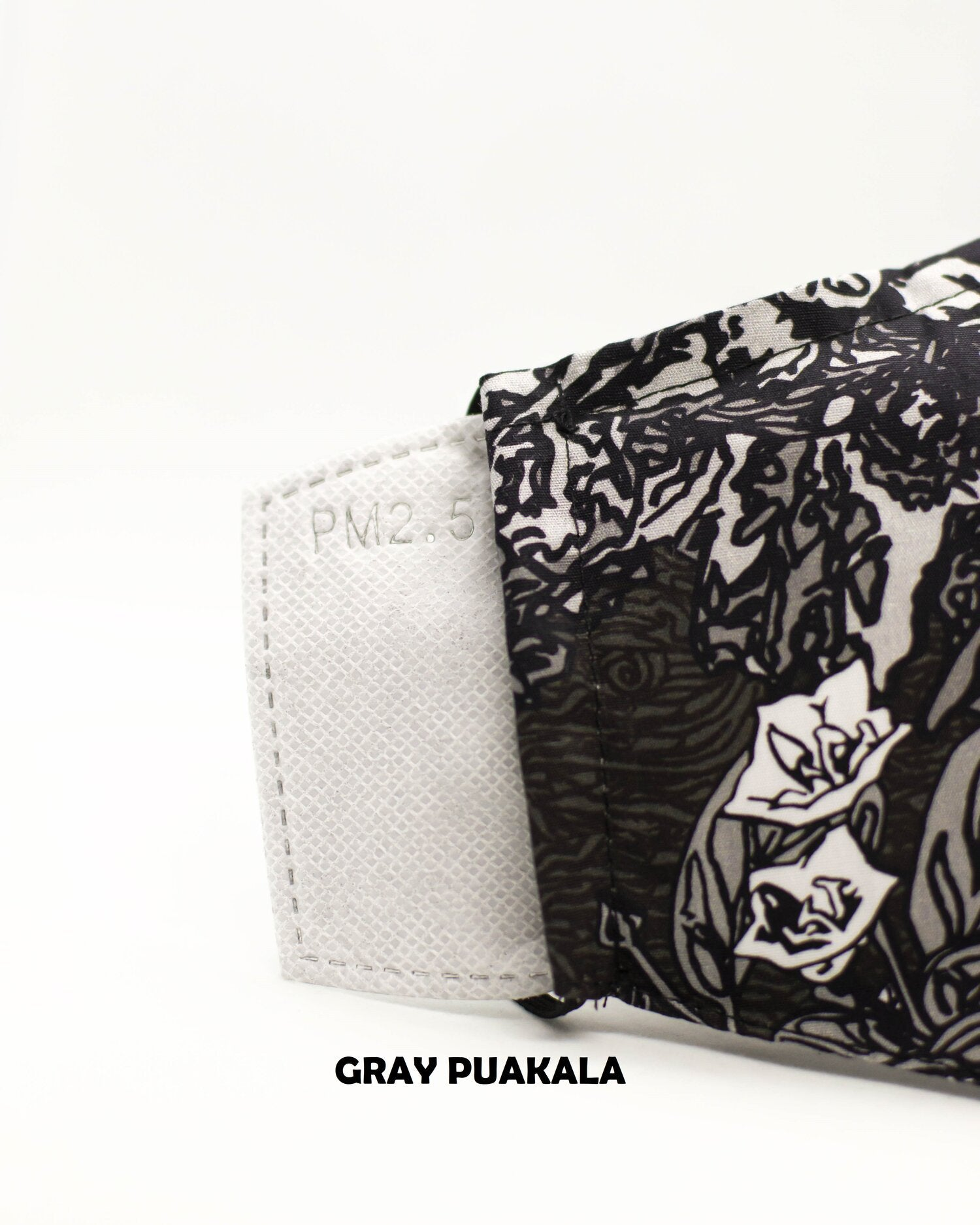 Puakala Gray Face Mask
