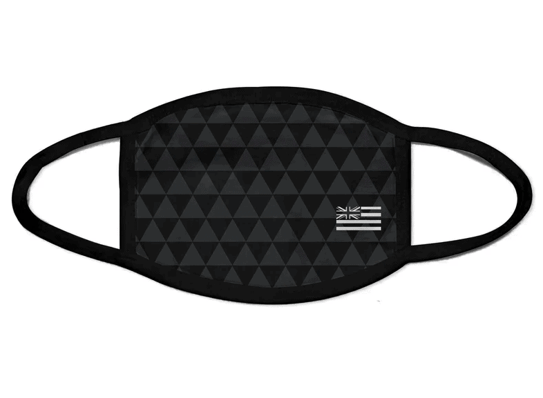 Gray Triangle Face Mask